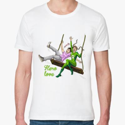 Футболка из органик-хлопка Hero-вая любовь