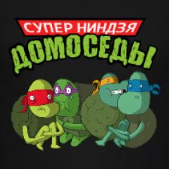 СУПЕР ЧЕРЕПАШКИ НИНДЗЯ - ДОМОСЕДЫ - YouTube