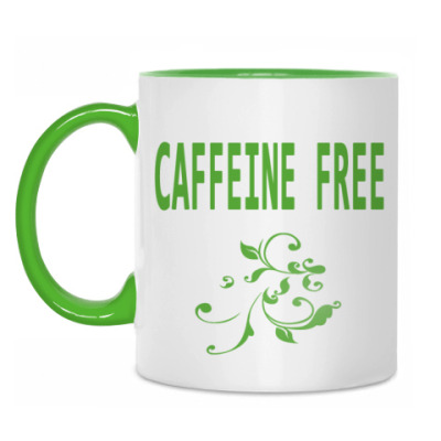 Кружка Caffeine free