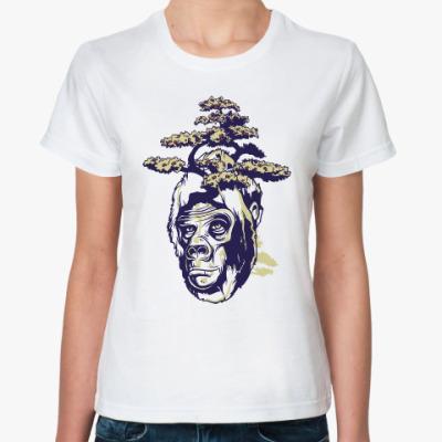 Классическая футболка Обезьяна