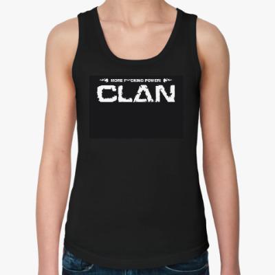 Женская майка CLAN