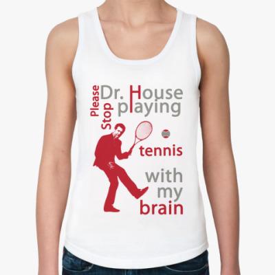 Женская майка House tennis Жен майка