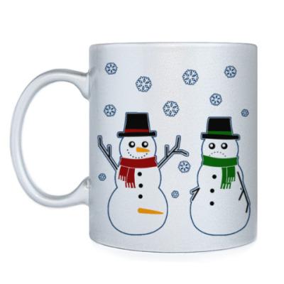 Кружка Happy Snowman