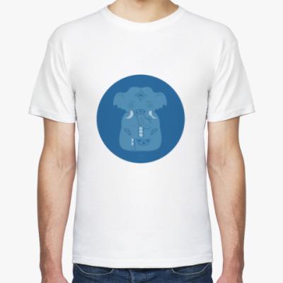 Футболка Animal Zen: E is for Elephant