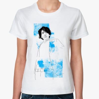 Классическая футболка Тома небо