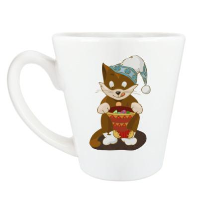 Чашка Латте Кружка к Рождеству