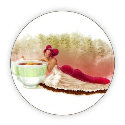 Костер (подставка под кружку) Перерыв на чай