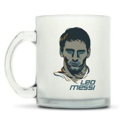 Кружка матовая Leo Messi