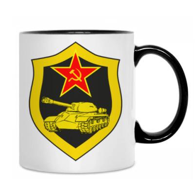 С эмблемой Танковые войск