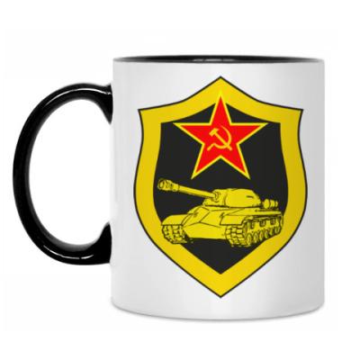 Кружка С эмблемой Танковые войск