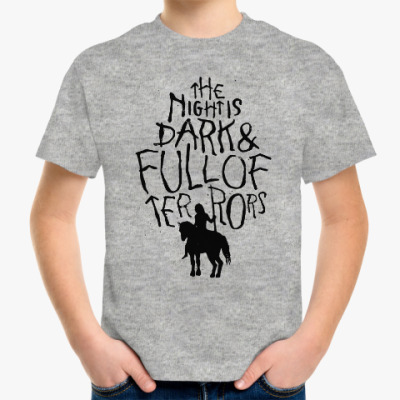 Детская футболка Игра престолов.Белые ходоки