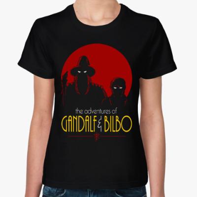 Женская футболка Гэндальф