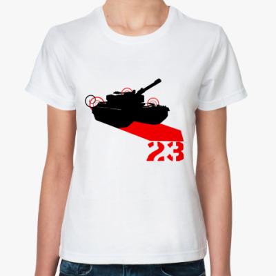 Классическая футболка Tank 23