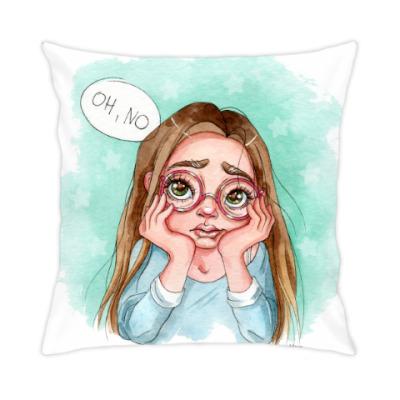 Подушка Oh, no