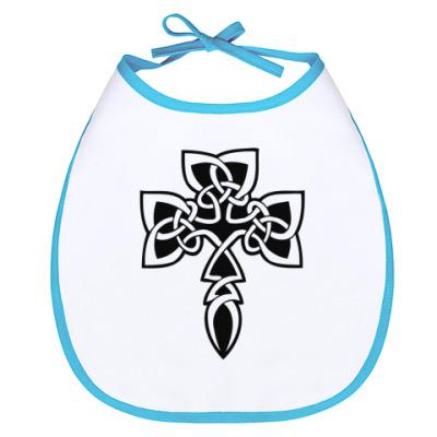 Слюнявчик Кельтский Крест