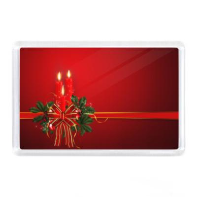 Магнит Новый год, Рождество