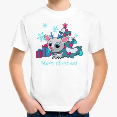 Детская футболка Рудольф