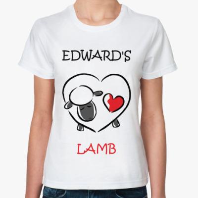 Классическая футболка Edward's lamb