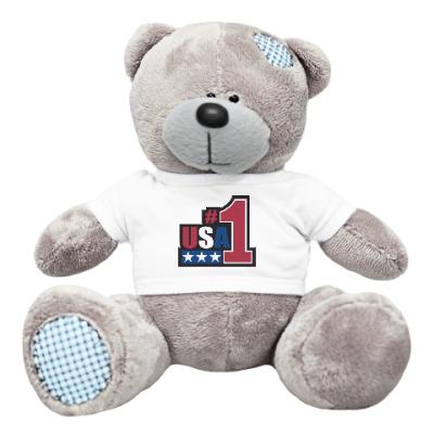 Плюшевый мишка Тедди USA 1