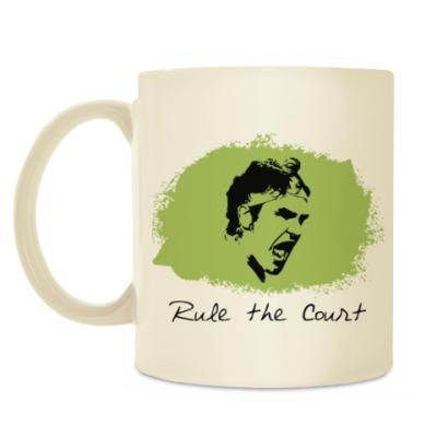 Кружка Федерер - Управляй кортом