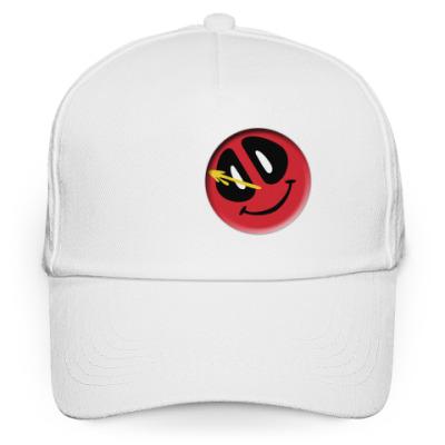 Кепка бейсболка Deadpool значок Комедианта