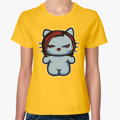 Женская футболка Китти Мэрилин Мэнсон