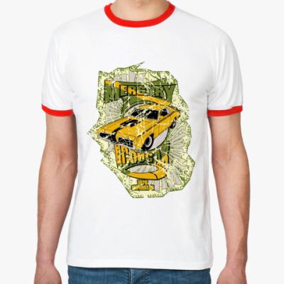 Футболка Ringer-T Автомобиль