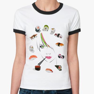 Женская футболка Ringer-T Ассорти  Ж ()