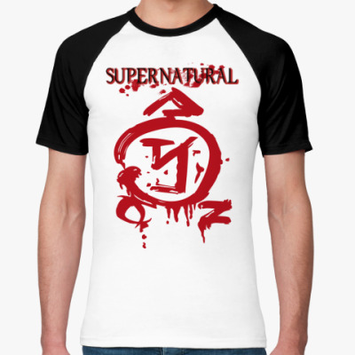 Футболка реглан Supernatural