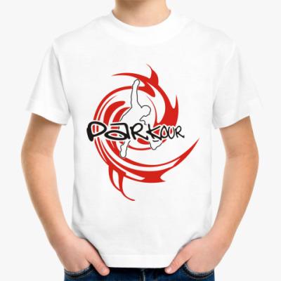 Детская футболка Parkour
