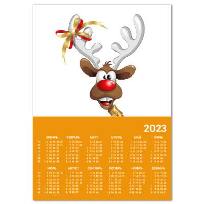 Календарь Календарь A2 2016, оранжевый