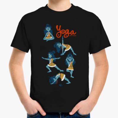 Детская футболка Shiva's yoga
