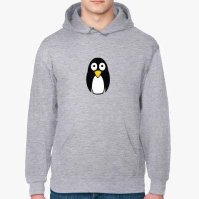 Толстовка худи Милый пингвин