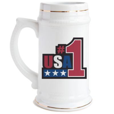 Пивная кружка USA 1