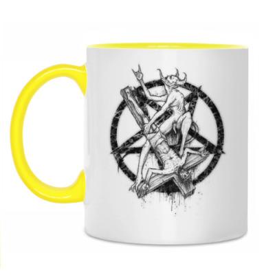 Кружка Для настоящего сатаниста