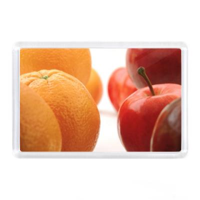Магнит яблоки