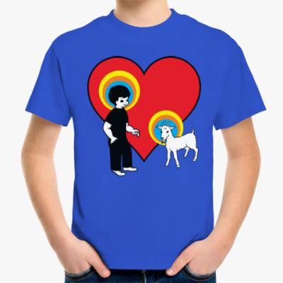 Детская футболка Год козы