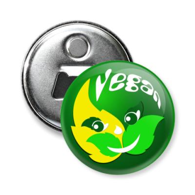 Магнит-открывашка Vegan