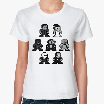 Классическая футболка Семейка Аддамс
