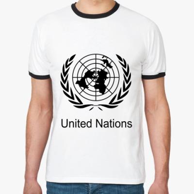Футболка Ringer-T ООН