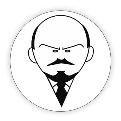 Костер (подставка под кружку) Ленин