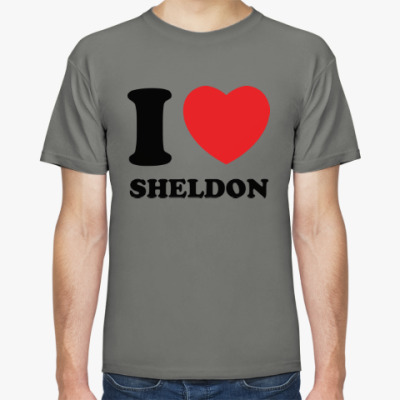 Футболка I Love Sheldon