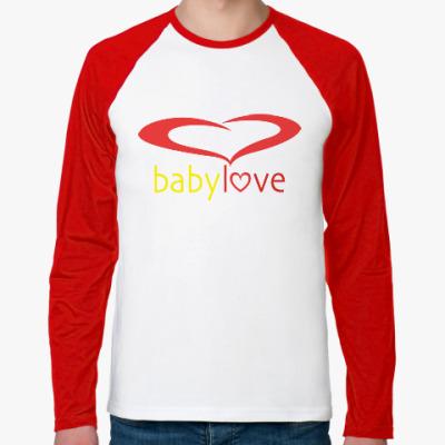 Футболка реглан с длинным рукавом Baby Love