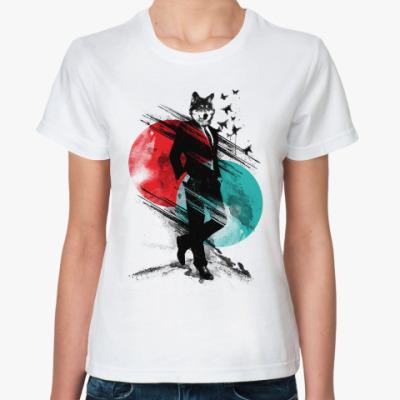 Классическая футболка Мистер Волк