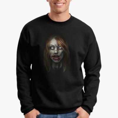 Свитшот Зомби-девушка
