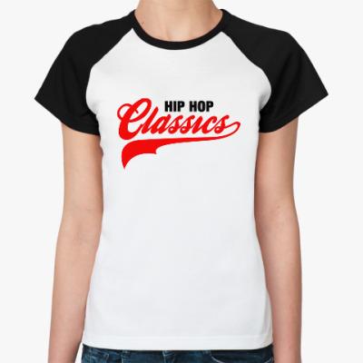 Женская футболка реглан Hip Hop Classics