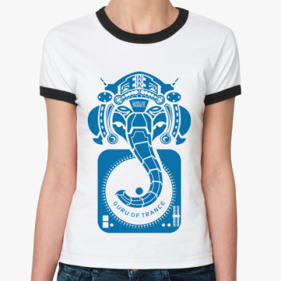 Женская футболка Ringer-T   Guru
