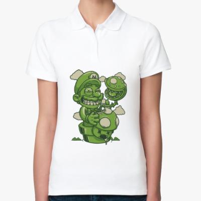 Женская рубашка поло Марио