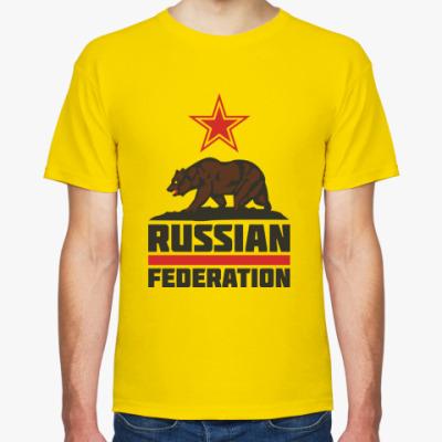 Футболка Russian Federation