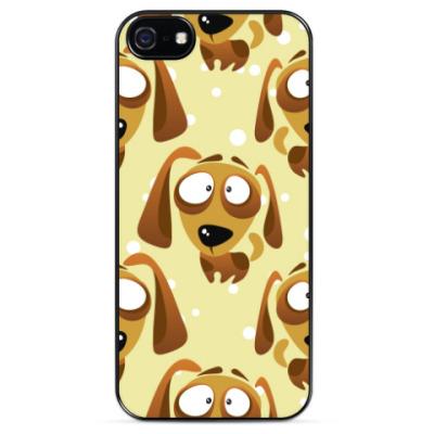 Чехол для iPhone Миленькая собачка